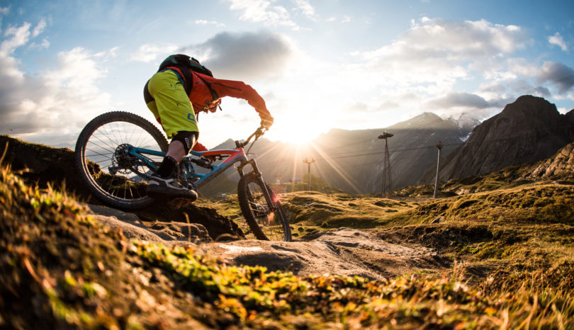 Downhill Mountain Biking Routes England.